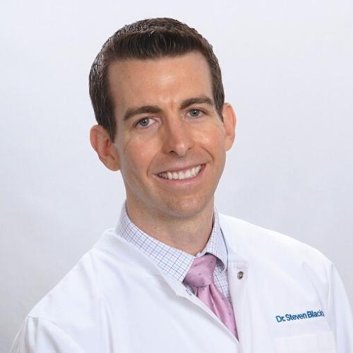 Dr. Steven Blackburn working at BLVD Dentistry & Orthodontics